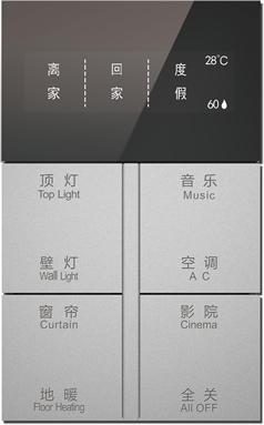 OLED多功能集控面板