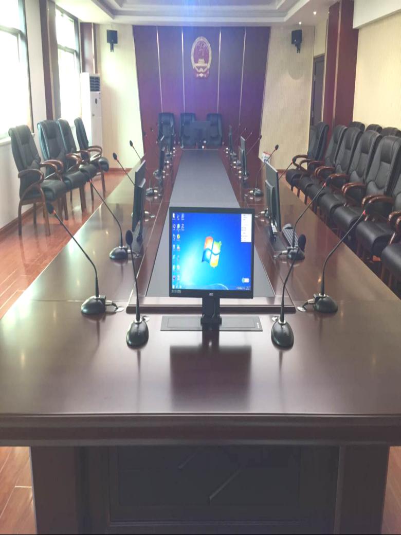 株洲荷塘区法院会议扩声系统